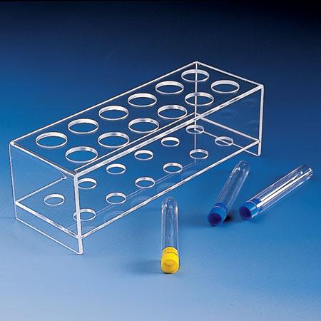 Just plastics product code 3831 test tube rack for Provette e portaprovette